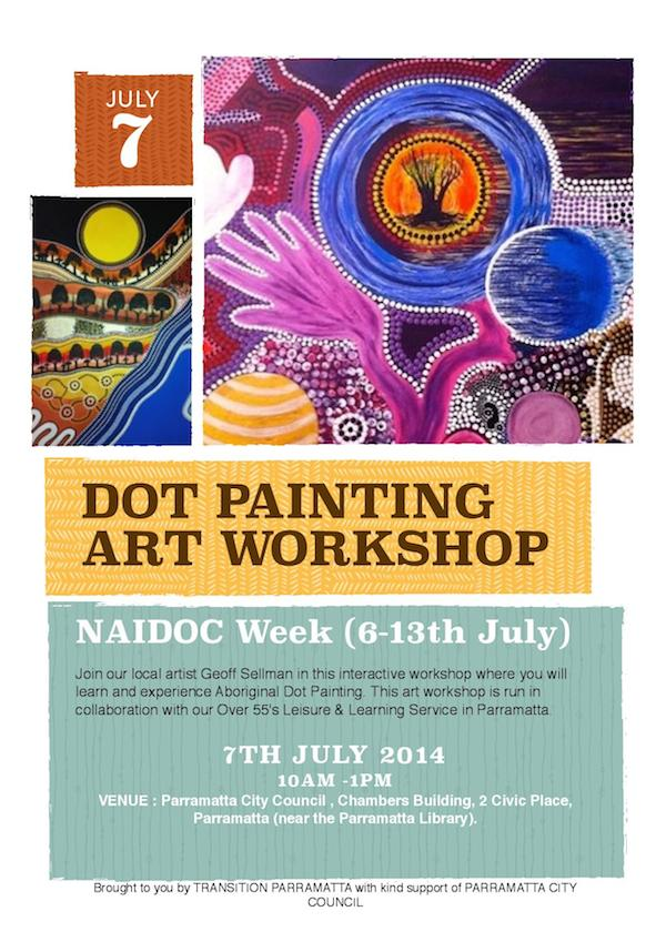 7th July Dot Painting Workshop nc s