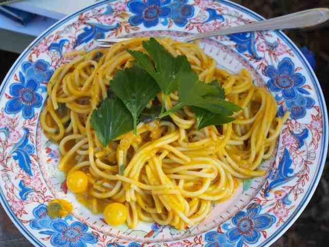 Lings pumpkin noodles